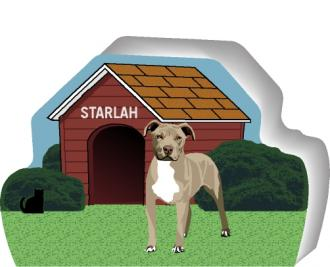 Pitbull can be personalized with your dog's name