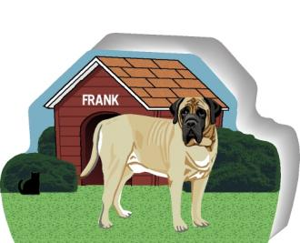 Mastiff can be personalized with your dog's name