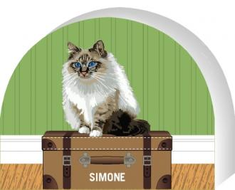 PURRsonalize Me! Birman cat by the Cat's Meow Village