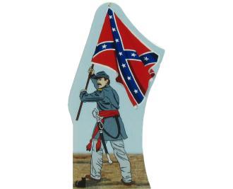 Confederate Battle Flag, September 1861, Civil War