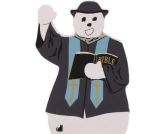 Pastor Snowman