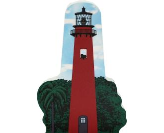 Cat's Meow replica of Jupiter Lighthouse located on the Jupiter Inlet, Florida.