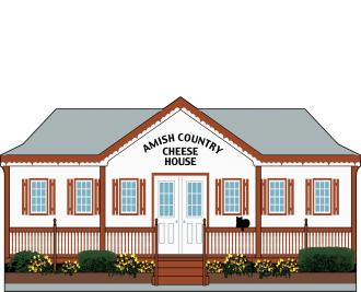 Cat's Meow Amish Country Cheese House, Amish Country Collection 2015
