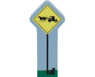 Sign, Amish Buggy, Amish buggy sign, Amish, Amish country Ohio