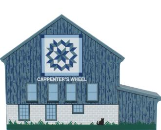 Carpenter's Wheel Quilt Barn, quilts, America's back roads, underground railroad