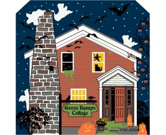 Goose Bumps Cottage, Cat's Meow Halloween 2014 Collection