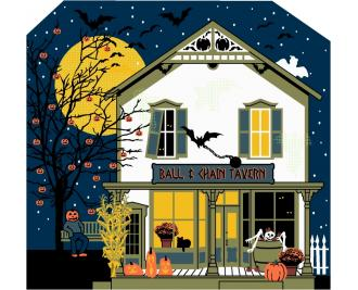 Ball & Chain Tavern, Cat's Meow Halloween 2014 Collection