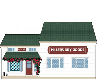 Cat's Meow Millers Dry Goods, Amish Country Collection 2015