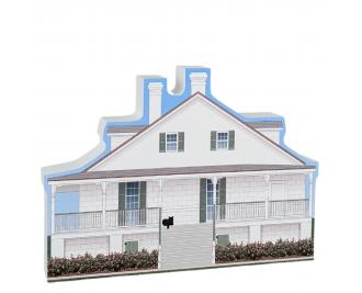 Barkley House, Pensacola, Florida.  Handcrafted in the USA by Cat's Meow Village.