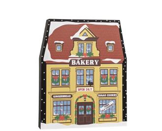 "North Pole Bakery handcrafted in 3/4"" thick wood by The Cat's Meow Village in Ohio...not the North Pole."