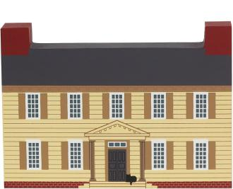 Remember your trip to historical Williamsburg, VA with a handcrafted wooden keepsake of the Grissell Hay Lodging House