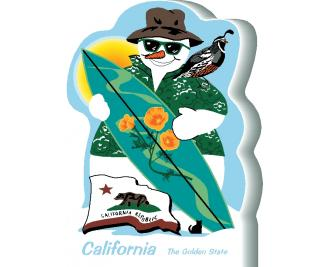 California State Snowman handcrafted and made in the USA.