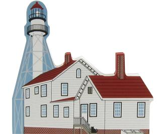 Whitefish Point Light, Michigan, lighthouse, nautical,