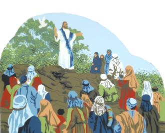 Sermon On The Mount - Matthew 5:1-12, Biblical stories,