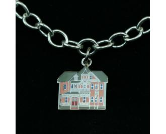 Wear a Village on your wrist! Victorian House Charm by The Cat's Meow Village