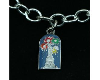 Wear a Village on your wrist! Statue of Liberty Charm by The Cat's Meow Village