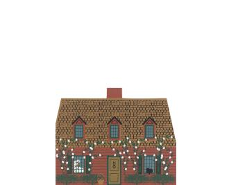"Vintage Grandmother's House from Fairy Tale Series handcrafted from 3/4"" thick wood by The Cat's Meow Village in the USA"