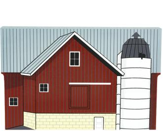 Cat's Meow handcrafted wooden keepsake of a typical Amish barn in Wayne and Holmes Counties, Ohio.