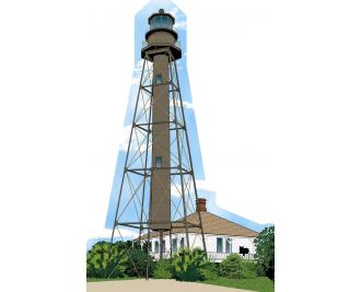 Cat's Meow replica of Sanibel Lighthouse on Sanibel Island, FL