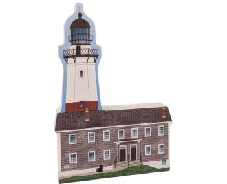 Add this lovely lighthouse replica of Montauk Lighthouse, Montauk, New York, to your Cat's Meow Village! Handcrafted in the USA.