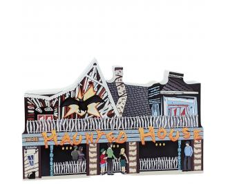 Haunted House on the Ocean City Boardwalk in Maryland handcrafted by The Cat's Meow Village in the USA.