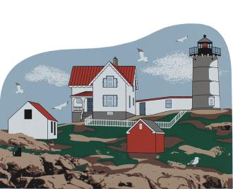 Nubble Lighthouse, Cape Neddick Lighthouse, lighthouse, York Maine, York Beach, Maine, nautical, New England