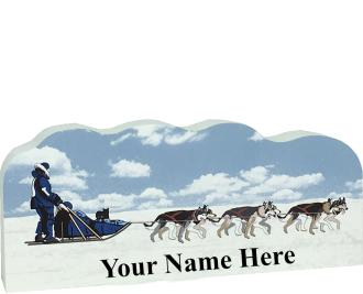 Sled Dogs, PURRsonalize Me!  Front