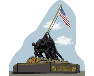 USMC War Memorial, Iwo Jima, World War II, raising the flag on Iwo Jima