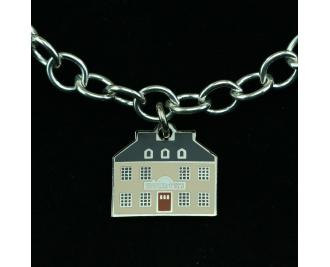 Wear a Village on your wrist! Red Whale Inn Charm by The Cat's Meow Village