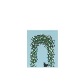 "Vintage Traditional Rose Arbour from Great Britain handcrafted from 3/4"" thick wood by The Cat's Meow Village in the USA"