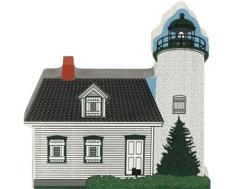 Cat's Meow handcrafted wooden keepsake of the Baker Island Light in Acadia National Park, Maine