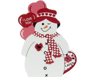 Be My Valentine Snowman, Valentine's Day