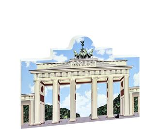 "Wooden replica of Brandenburg Gate, Berlin, Germany to add to your home decor. Crafted from 3/4"" thick wood by The Cat's Meow Village."