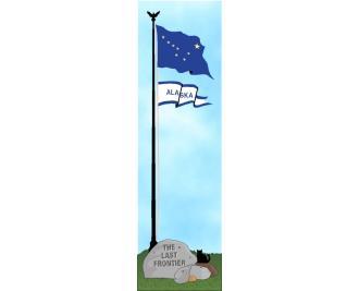 Cat's Meow State Flag representing Alaska