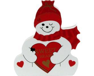 Sweetheart Snowman, Valentine's Day