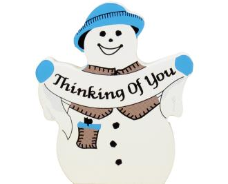 Thinking Of You Snowman
