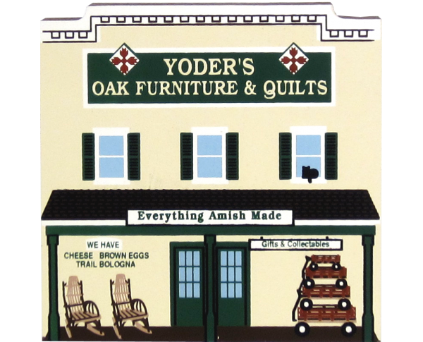 Yoder's Amish Oak Furniture Store, Amish Country Ohio, Amish,
