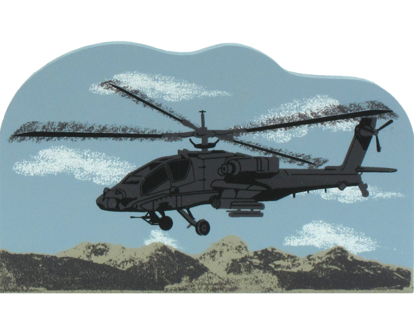 US Army AH-64 Helicopter