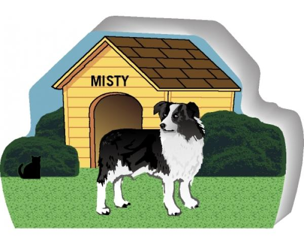 Australian Shepherd can be personalized with your dog's name