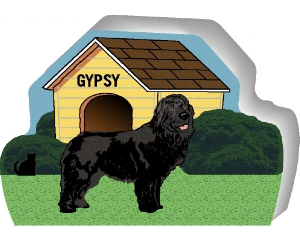 Newfoundland can be personalized with your dog's name