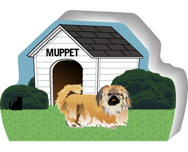 Pekingese can be personalized with your dog's name
