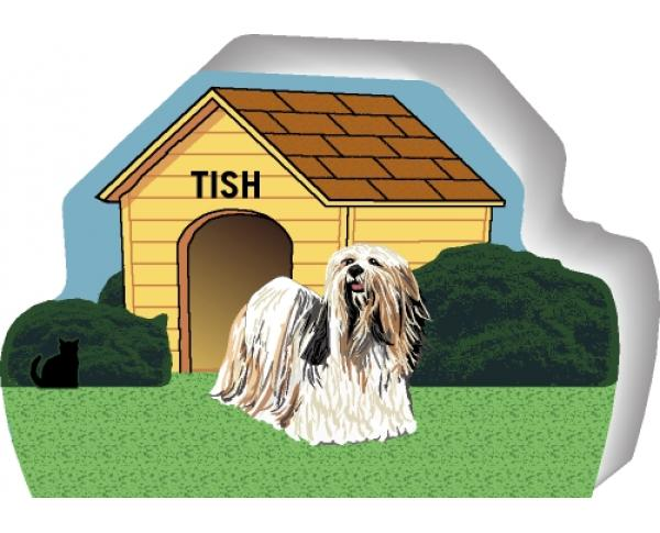 Lhaso Apso can be personalized with your dog's name
