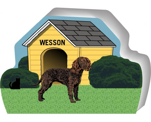 Cat's Meow PURRsonalized Dog Houses. Handcrafted and made in the USA.