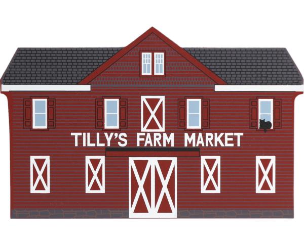 Cat's Meow replica of Tilly's Farm Market.
