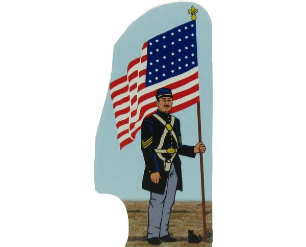 Union Flag, July 4, 1863, Civil War, Appomattox Court House, Virginia