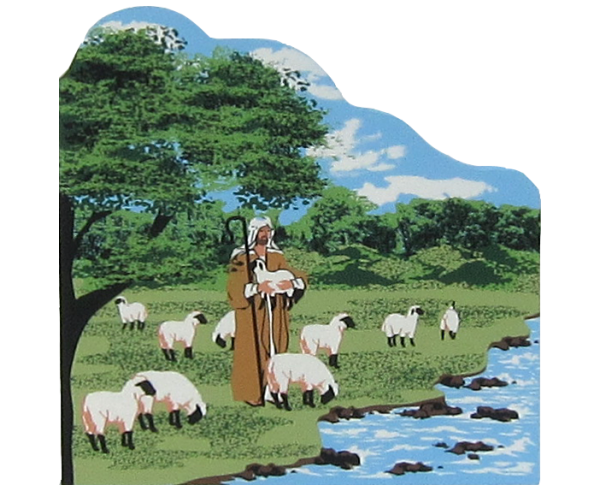 Lord Is My Shepherd - Psalm 23, Psalm of David, Bible story,