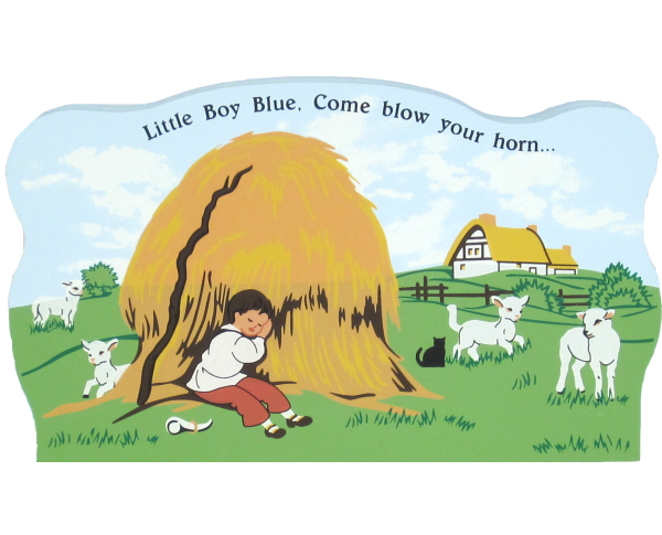 Little Boy Blue, nursery rhymes,