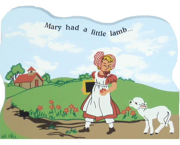 Mary Had A Little Lamb, nursery rhymes, lambs,