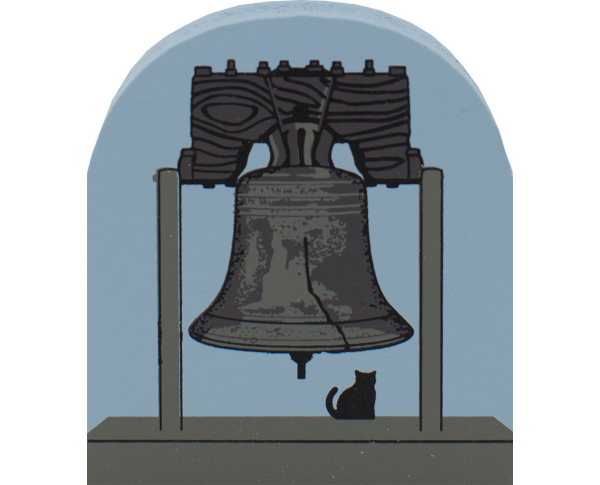 Cat's Meow replica of the Liberty Bell in Philadelphia, PA