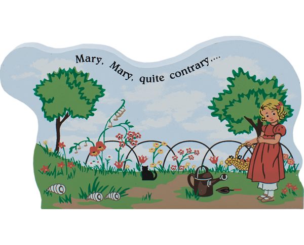 Mary, Mary, Quite Contrary, nursery rhymes, mother goose